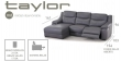 Chaise-Long/1P-R/1P Relax Taylor Varios Tapizados